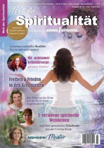 """Himmlisch leben in Corona-Zeiten - Artikel im Magazin """"Welt der Spiritualität"""""""